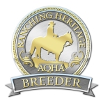 Lazy Eight Ranches is an AQHA Ranching Heritage Breeder